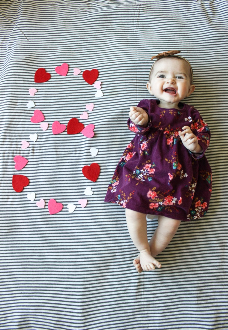 hadley rose turns 8 months old and was not gaining weight